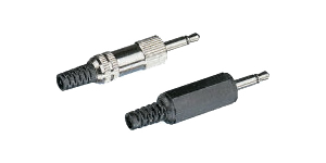 Mono insulated jack plug,3.5mm